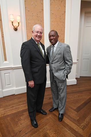 Chinquapin gala 5/16 Ken Starr, Mayor Sylvester Turner