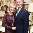 2 Cathy and Giorgio Borlenghi at the Mrs. B Jewelry Launch at Valobra November 2013