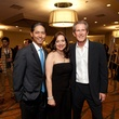 Tommy and Marcelle Ho, from left, with Keith Christman at the Houston Tennis Association Gala February 2014