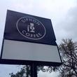 Siphon Coffee Houston sign
