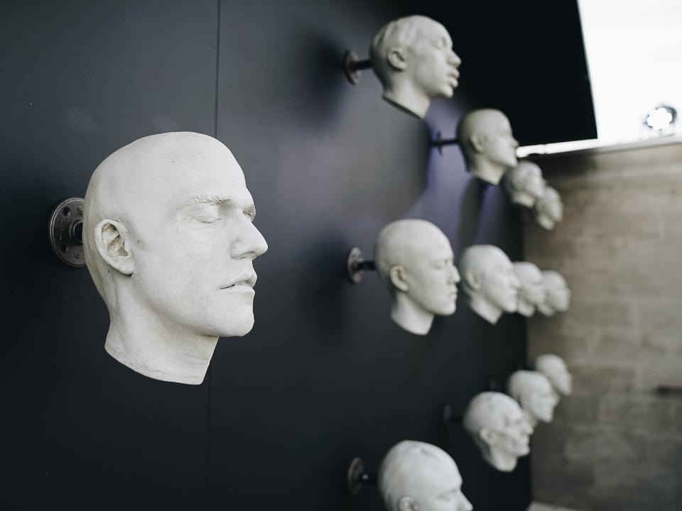 SXSW Westworld Experience at Eastside Tavern Plaster Heads