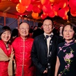 22 Elizabeth and James Tang, from left, and Thomas and Anna Au at the Asia Society Tiger Ball March 2015