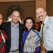 Courtney Sarofim, from left, Kevin Robins, Elyse Lanier and Mike Feinberg at the Breakthrough Houston luncheon February 2015
