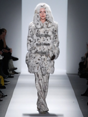 Fashion Week fall 2013, Dennis Basso, February 2013, fur everything