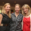 Alley Theatre Young Professionals Kick-Off June 2013 Mary O'Black, Ashley Allen, Melissa Buce