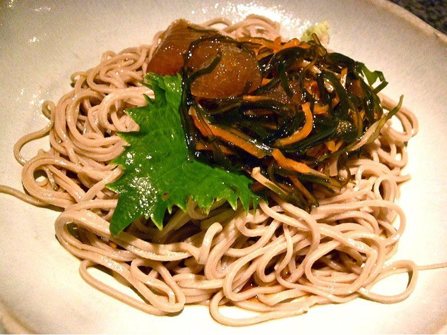 Soba noodles at Tei An restaurant in Dallas