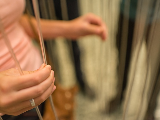 Strings at the Art Crowd Soto at the MFAH June 2014