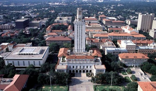 University of Texas campus
