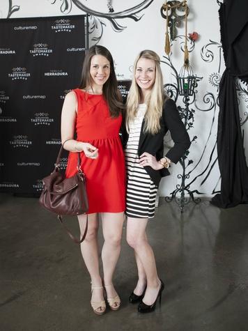 Jordan Liberty, Alyssa Harker, CultureMap Dallas Tastemaker Awards