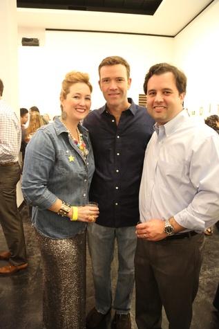 Gala and Retablo Silent Auction 2014, Lawndale Art Center, Dia De Los, Muertos, Nicole Romano, Joey Romano, Mike Maggart