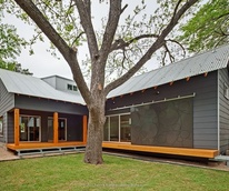 Austin home house Houzz energy effecient Bouldin Creek