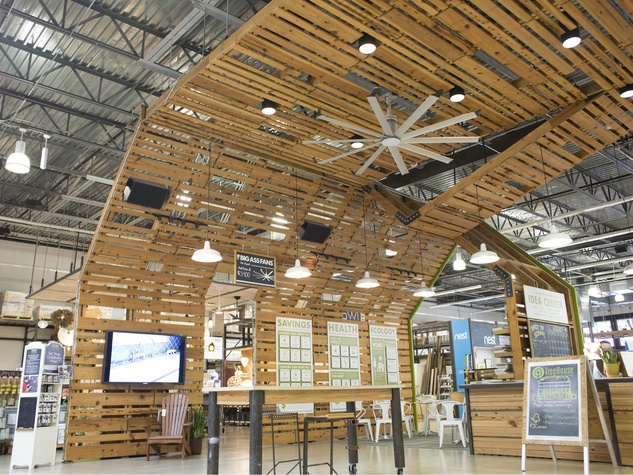 Treehouse store interior