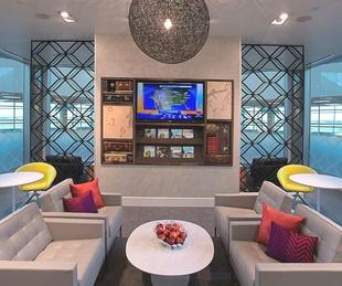 Centurion Lounge at DFW Airport