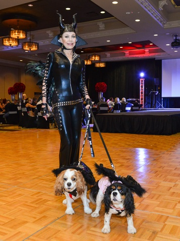 6 Carolyn St. Clair with Tallulah and Spencer at Bad to the Bone June 2014