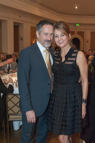 Houston, River Oaks Chamber Orchestra Gala, October 2015, Jim Lawrence and Susan Blair