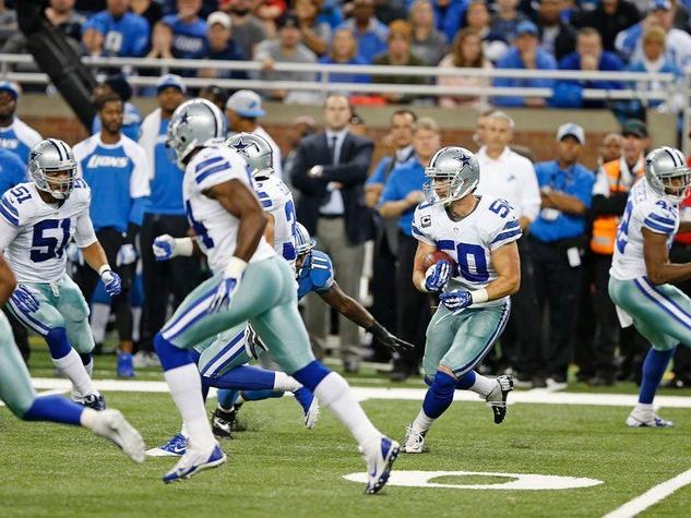 Sean Lee of the Dallas Cowboys