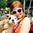 12 Kim Hester and friend at the Buffalo Bayou Bash April 2014
