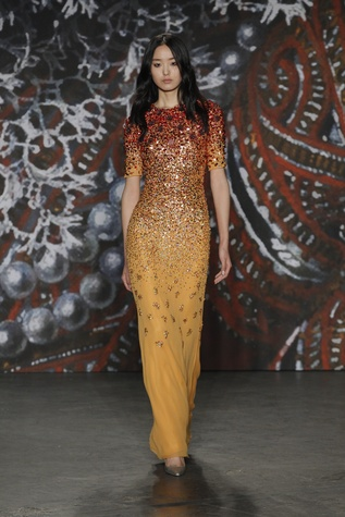 Jenny Packham look 13 fall 2015 collection