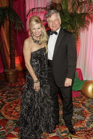 Terrie and Mike Turner at the Winter Ball January 2015