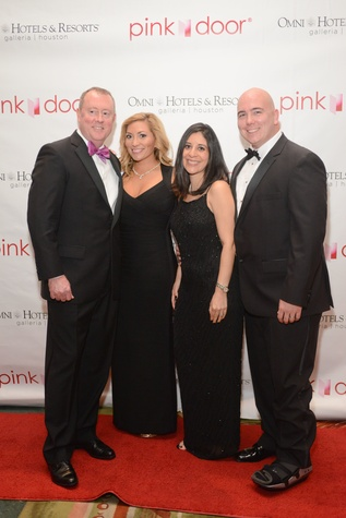 4 Allen and Jillian Weatherford, from left, and Ariana and Jay Rogers at the Pink Door Gala November 2014