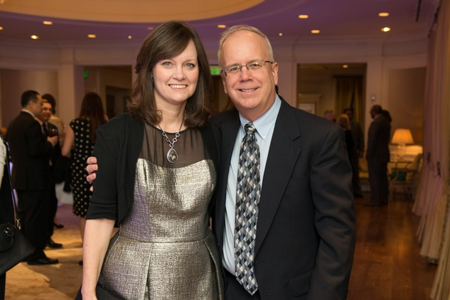 Trudy and Tim McDermott at the Young Life dinner February 2015