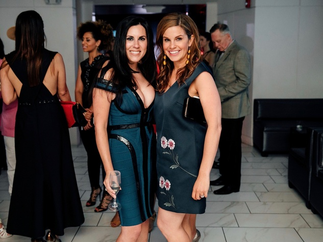 Lauren Geiser, Molly Stone at Little Black Dress Designer 2017