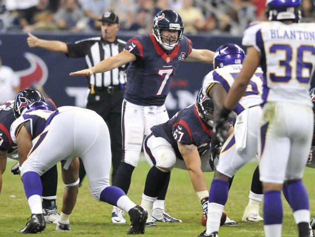 Case Keenum Texans Vikings