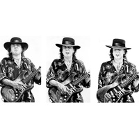 "Modern Rocks Gallery presents Tracy Anne Hart's ""Stevie Ray Vaughan & Friends opening party"