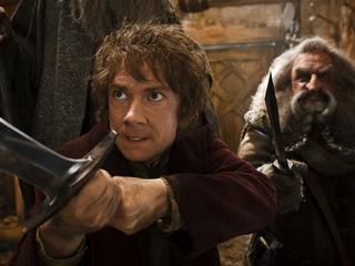 Martin Freeman in The Hobbit: The Desolation of Smaug