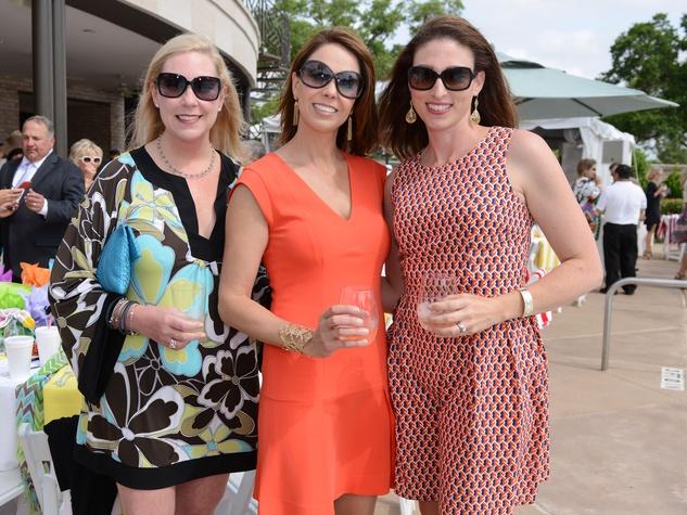 News, Shelby, River Oaks Tennis Tournament luncheon, April 2015, Kristin Lindquist, Julie Abadie, Kelley Rogge