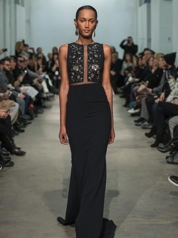 Clifford Fashion Week New York fall 2015 Rolando Santana February 2015 look 32