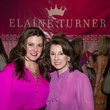 Elaine Turner and Marlaine White at the In the Pink luncheon in The Woodlands October 2013
