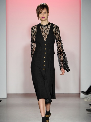Clifford New York Fashion Week fall 2015 Nanette Lepore March 2015 Look 21