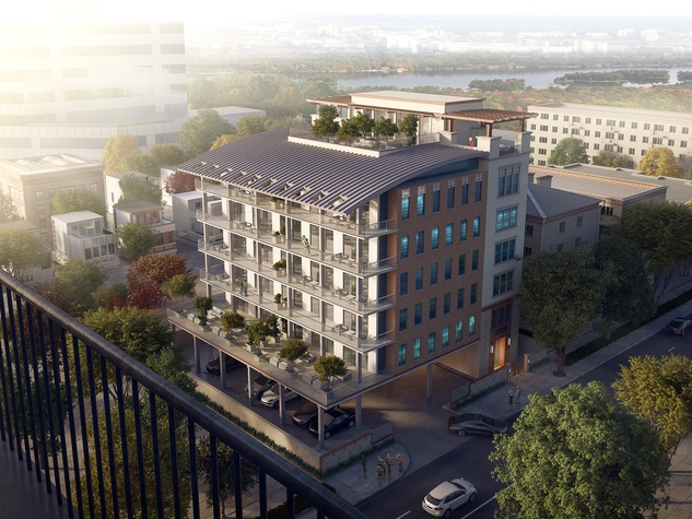 The Monroe at Bayou Park rendering March 2015