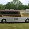 side view of Willie Nelson 1983 Eagle tour bus sold on Craigslist