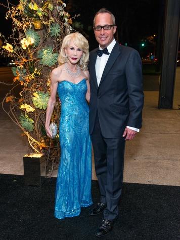 7 Diane Lokey Farb and Mark Sullivan at the MFAH Grand Gala October 2014