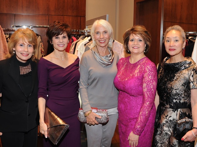 Sarah Stanley, Lisa Reid, Jan McMillan, Vincette …hiko Glazzard at Elizabeth Anthony Generations of Glamour