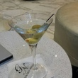 The near perfect martini with Double Cross vodka at the Golden Nugget Lake Charles