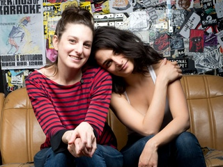 Gillian Robespierre and Jenny Slate from Obvious Child
