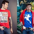 William Ntim square-neck T-shirts August 2013 two photos