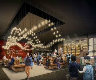 Austin Film Society AFS Cinema rendering