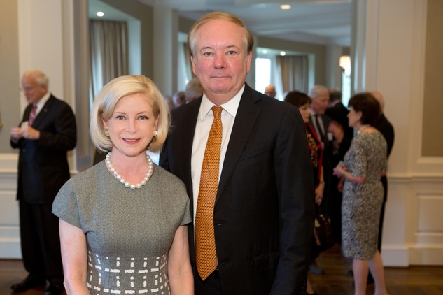 4 Ann and John Bookout III at the Houston Methodist Luncheon September 2014