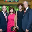 Dan and Lori Wolterman, from left, with Mary and Will Williams at the Memorial Hermann Razzle Dazzle Pink Luncheon October 2013