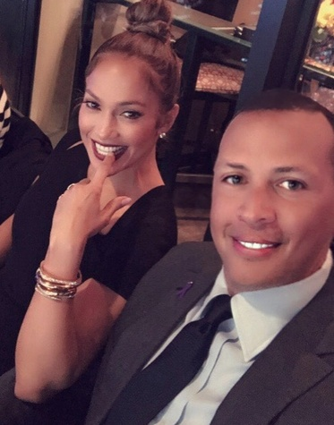Jennifer Lopez, Alex Rodriguez World Series Houston