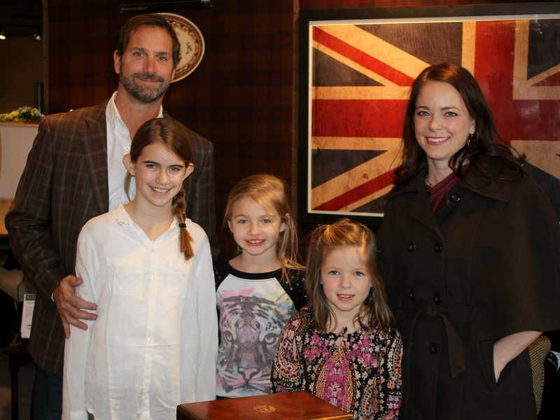The Miller Family, Kathy Adams Furniture Event
