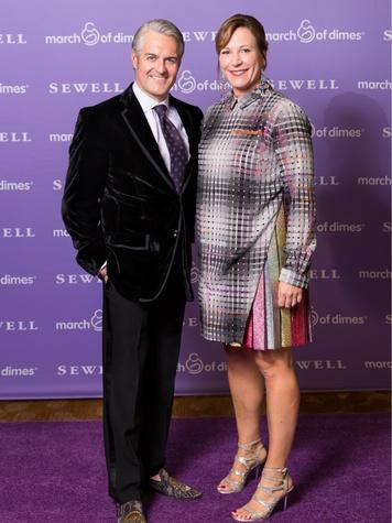 Ian MacNeil, Laura MacNeil, March of Dimes chef auction