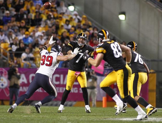 J.J.Watt Texans Steelers