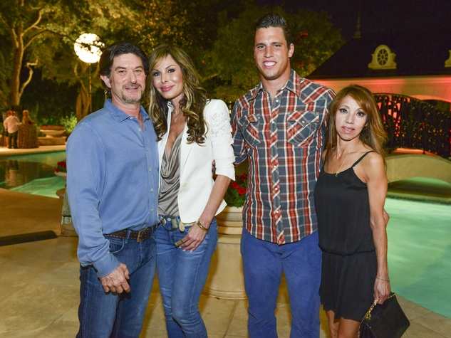 News Houston Children's Charity Gathering of Champions,Gary Becker, Kellie Letsos, Brian Cushing, Carmen Sanchez, April 2014