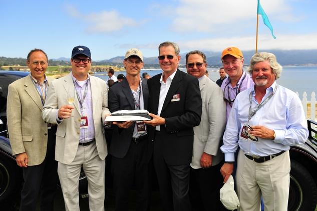 News, Shelby, Pebble Beach Concours d'Elegance, August 2014, Myron Vernis, Dr. Mark Brinker, Gary Brock, Jim Fasnacht, K. C. Weiner, David Pustka, John Aubrey