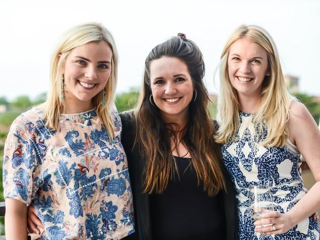 Jane Rozelle, Caroline Harrison, Sarah Smith Conway